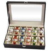 Whimsical Gifts Nurse2 Watch 12ct Prepack (6 Gold; 6 Silver)