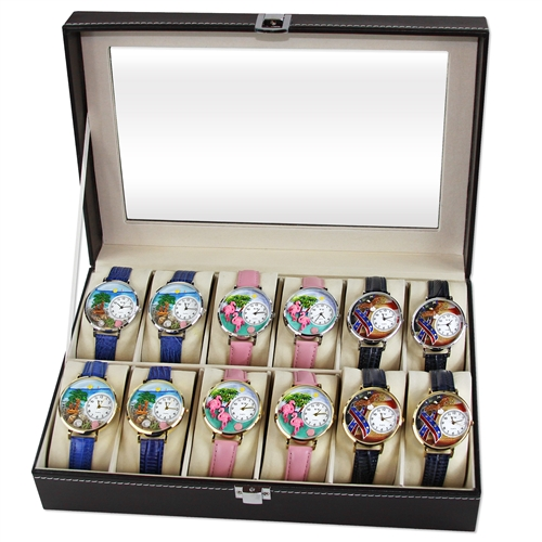 Summer Watch 12ct Prepack (6 Gold; 6 Silver)