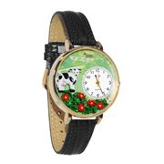 Cow Watch in Gold (Large)