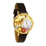 Golden Retriever Watch in Gold (Large)