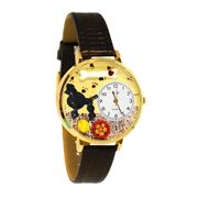 Poodle Watch in Gold (Large)