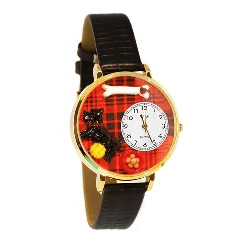 Scottie Watch in Gold (Large)