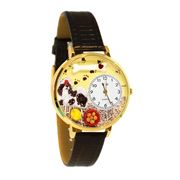 Shih-Tzu Watch in Gold (Large)