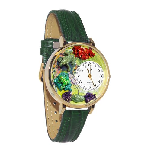 Frogs Watch in Gold (Large)