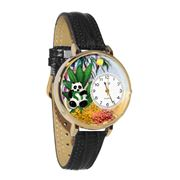 Panda Bear Watch in Gold (Large)