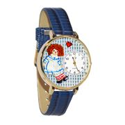 Vintage Raggedy Ann Watch in Gold (Large)