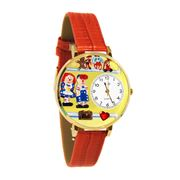 Raggedy Ann & Andy Watch in Gold (Large)