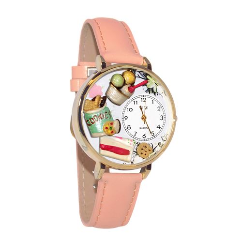 Dessert Lover Watch in Gold (Large)