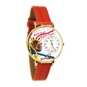 Knitting Watch in Gold (Large)