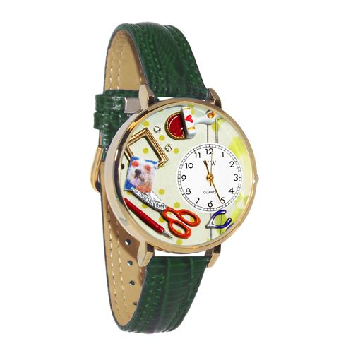 Scrapbook Watch in Gold (Large)