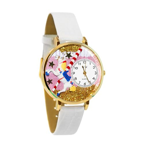 Carousel Watch in Gold (Large)