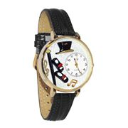 Tap Dancing Watch in Gold (Large)