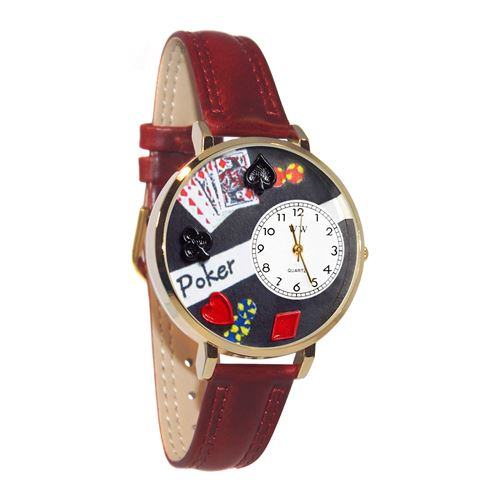 Poker Watch in Gold (Large)