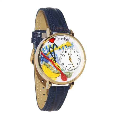 Crochet Watch in Gold (Large)