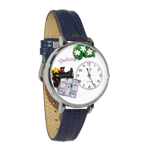 Quilting Watch in Gold (Large)