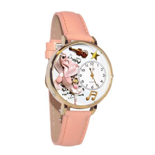Ballet Shoes Watch in Gold (Large)