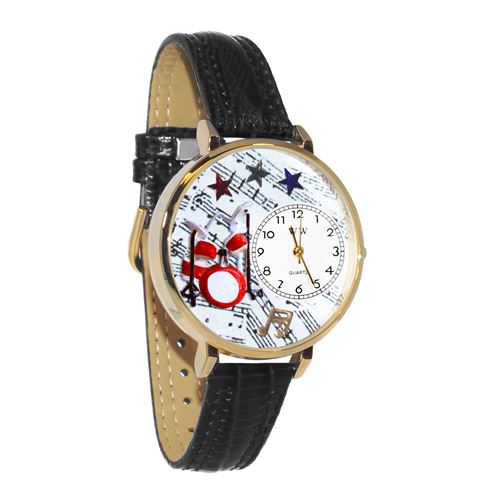 Drums Watch in Gold (Large)