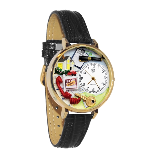 Realtor Watch in Gold (Large)