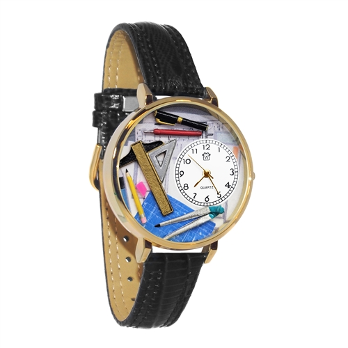 Architect Watch in Gold (Large)