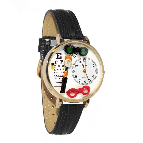 Opthamologist Watch in Gold (Large)