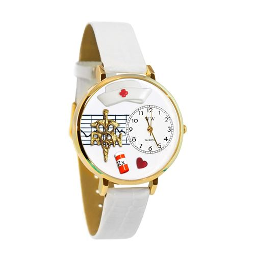 RN Watch in Gold (Large)