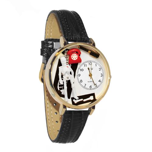 Orthopedics Watch in Gold (Large)