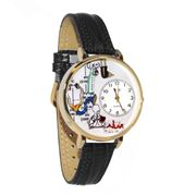 Respiratory Therapist Watch in Gold (Large)