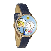 Nurse Angel Watch in Gold (Large)