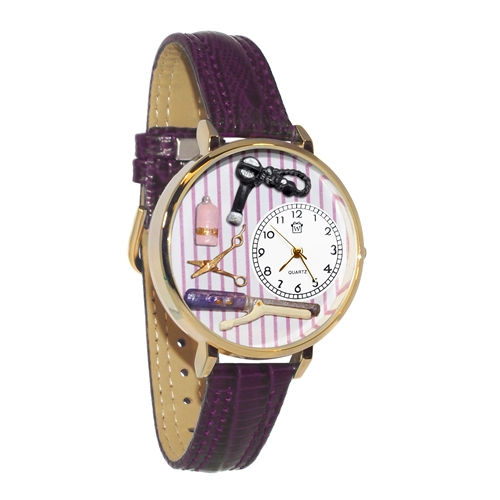 Beautician Female Watch in Gold (Large)