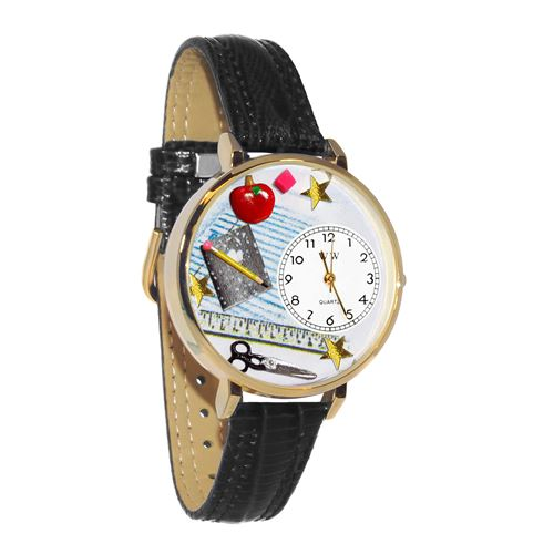 Teacher Watch in Gold (Large)
