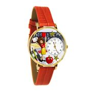 Kindergarten Teacher Watch in Gold (Large)