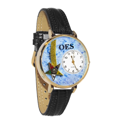 Order of the Eastern Star Watch in Gold (Large)