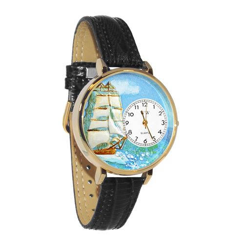 Sailing Watch in Gold (Large)