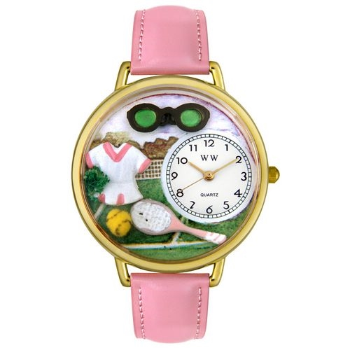 Tennis Watch (Female) in Gold (Large)