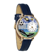 Soccer Watch in Gold (Large)