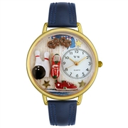 Bowling Watch in Gold (Large)