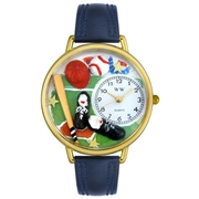 Baseball Watch in Gold (Large)