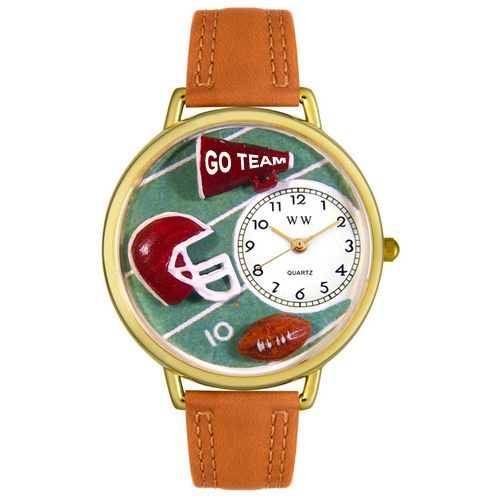 Football Watch in Gold (Large)