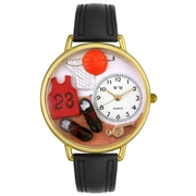 Basketball Watch in Gold (Large)