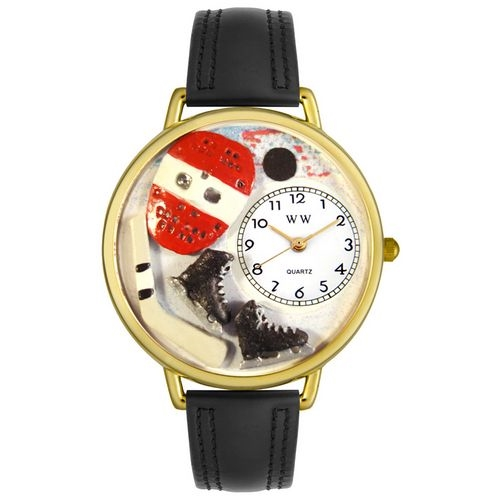 Hockey Watch in Gold (Large)