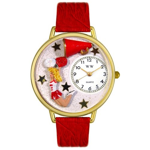 Cheerleader Watch in Gold (Large)