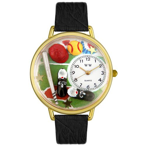 Softball Watch in Gold (Large)