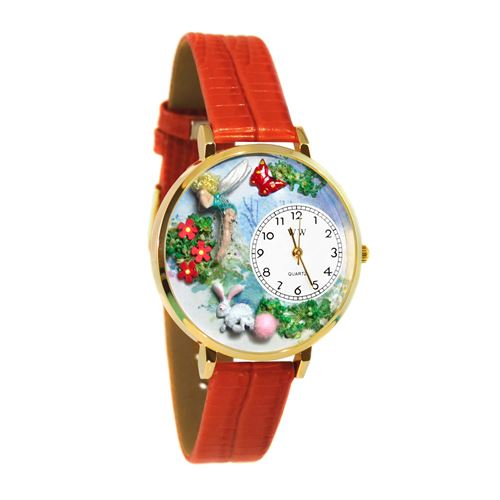 Garden Fairy Watch in Gold (Large)