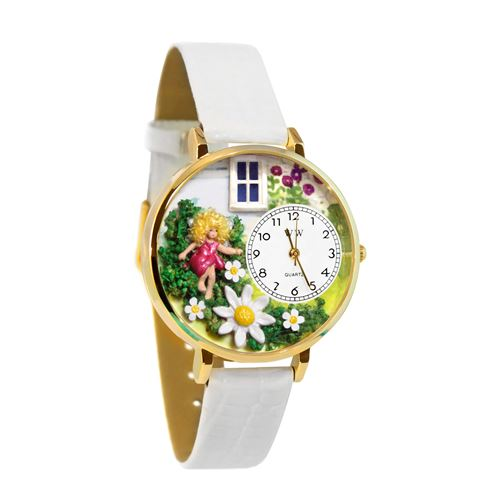 Daisy Fairy Watch in Gold (Large)