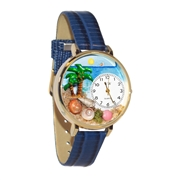 Palm Tree Watch in Gold (Large)