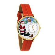 Christmas Santa Claus Watch in Gold (Large)