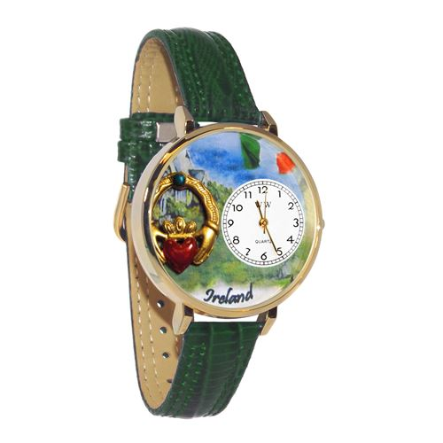 Ireland Watch in Gold (Large)