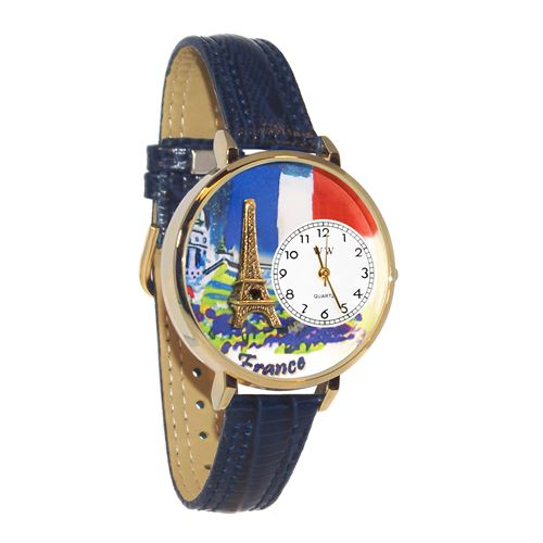 France Watch in Gold (Large)
