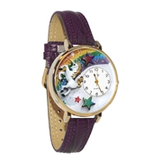 Unicorn Watch in Gold (Large)