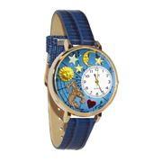 Aquarius Watch in Gold (Large)